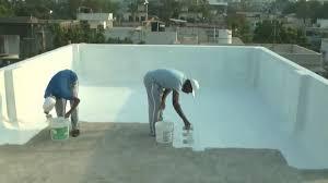 Cool roof waterproof coating